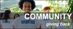 Community - giving back